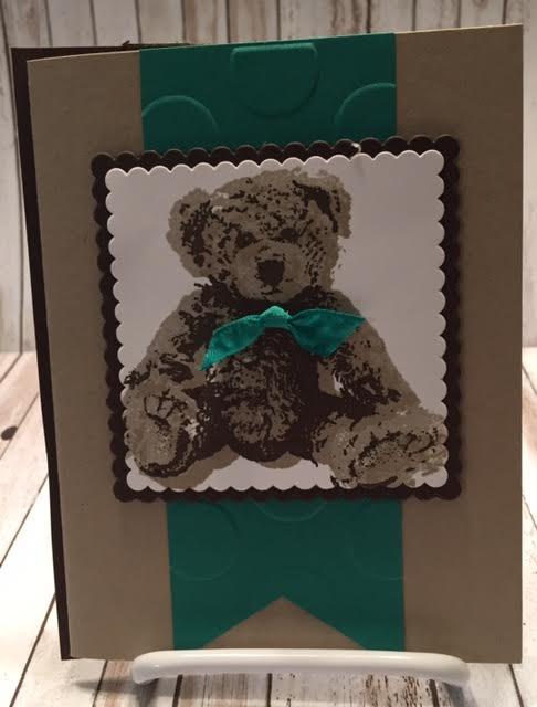 Baby bear green