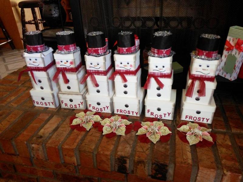Lois snowmen