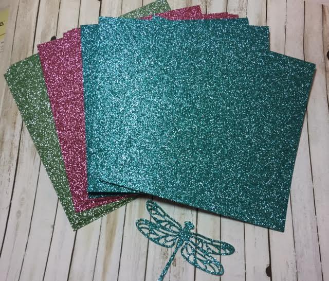 Glitter paper 5