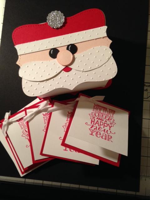 Santa box & cards