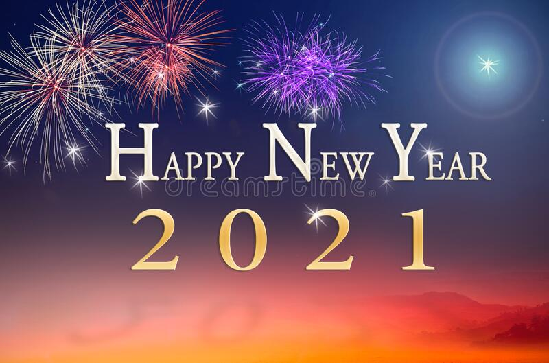 Happy-new-year-concept-text-over-fireworks-night-background-197943516